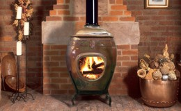African Earth Fireplace 2