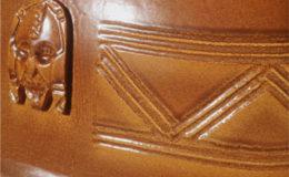 African Earth – pothaarden – African Flame – handgemaakt van keramiek detail
