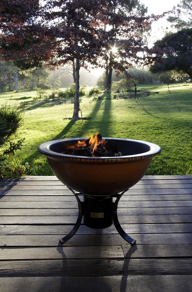 African Flame firepit