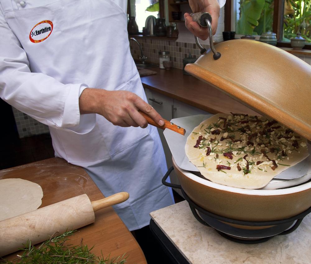 African Flame Pizza oven blog sfeerbeeld