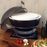 African Flame Pizza oven donker
