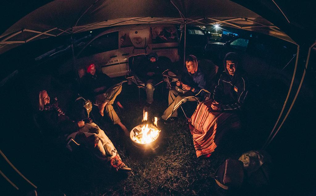 Campfire - African Flame - keramiek vuurkorf - braai