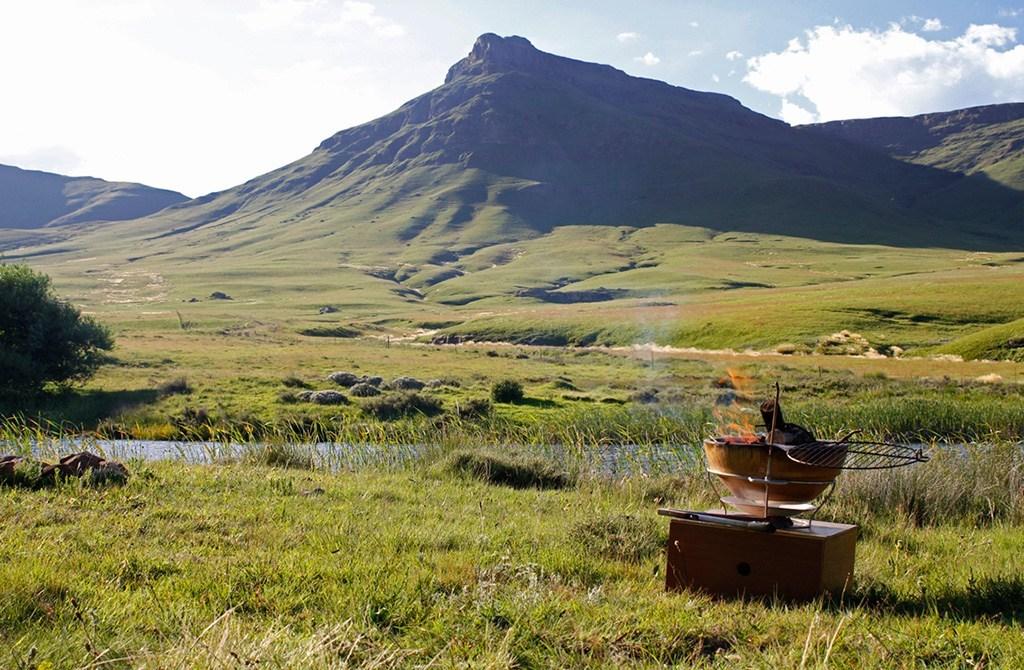 Campfire - African Flame - vuurschaal - braai